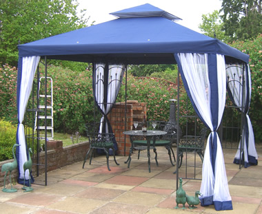 Gazebo gazebos hot tub shelters spa bath enclosures for Hot tub shelters