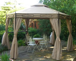 Claydon hexagonal gazebo