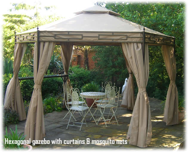 Gazebos, Gazebo Curtains, and Outdoor Patio Cover Kits