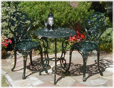 Attrayant Patio Furniture U003e Cast Iron Bistro Set