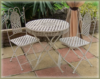 Garden Furniture Cast And Wrought Iron Patio Bistro Set