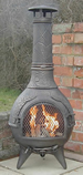 The Calico BBQ Chiminea Antique Bronze £105