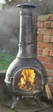 The Calico BBQ Chiminea Antique Pewter £105