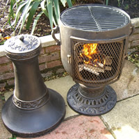 Exceptional The Classic Urn Chiminea Bronze