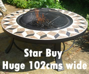 Round Barbecue Fire Pit