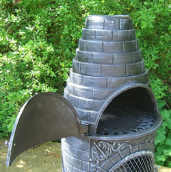 Buy The Castmaster Round Cast Iron Outdoor Pizza Oven