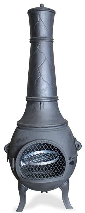 Chiminea Spark Arrestor : Buy the castmaster heavy weight valiant cast iron bbq