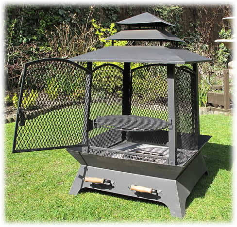 Chinese Lantern Barbecue Fire Pit