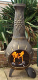 Castmaster Soleil chiminea