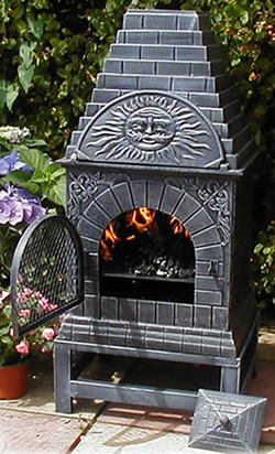 Buy The Castmaster Versace Style Cast Iron Outdoor Pizza