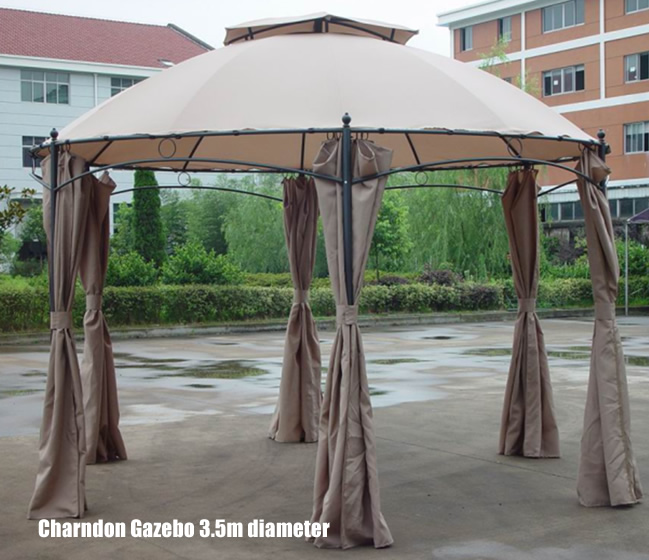Ideas For Roof Replacement With A Metal Gazebo Frame Gazebo