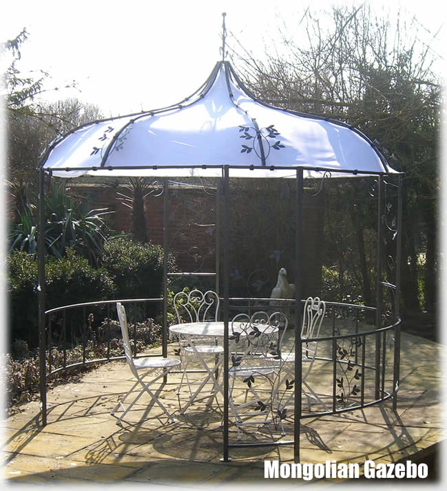 Mongolian Style Metal Garden Party Gazebo