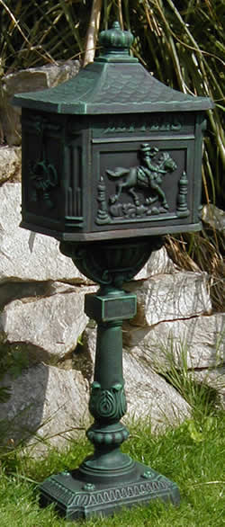 Cast Iron Mail Boxes And Post Boxes Available Online For