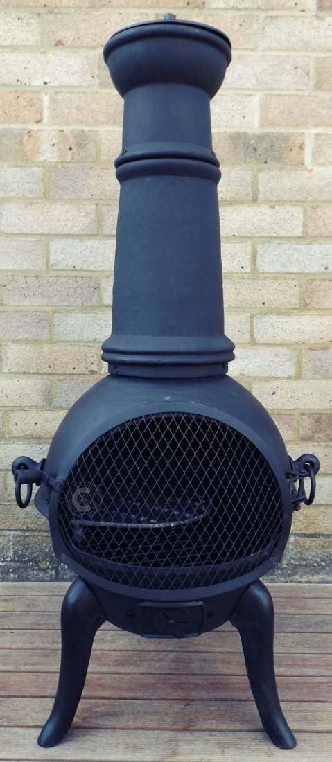 Chiminea Spark Arrestor : Buy the palma castmastert cast iron chiminea online from
