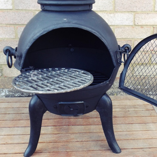 Buy The Palma Castmastert Cast Iron Chiminea Online From