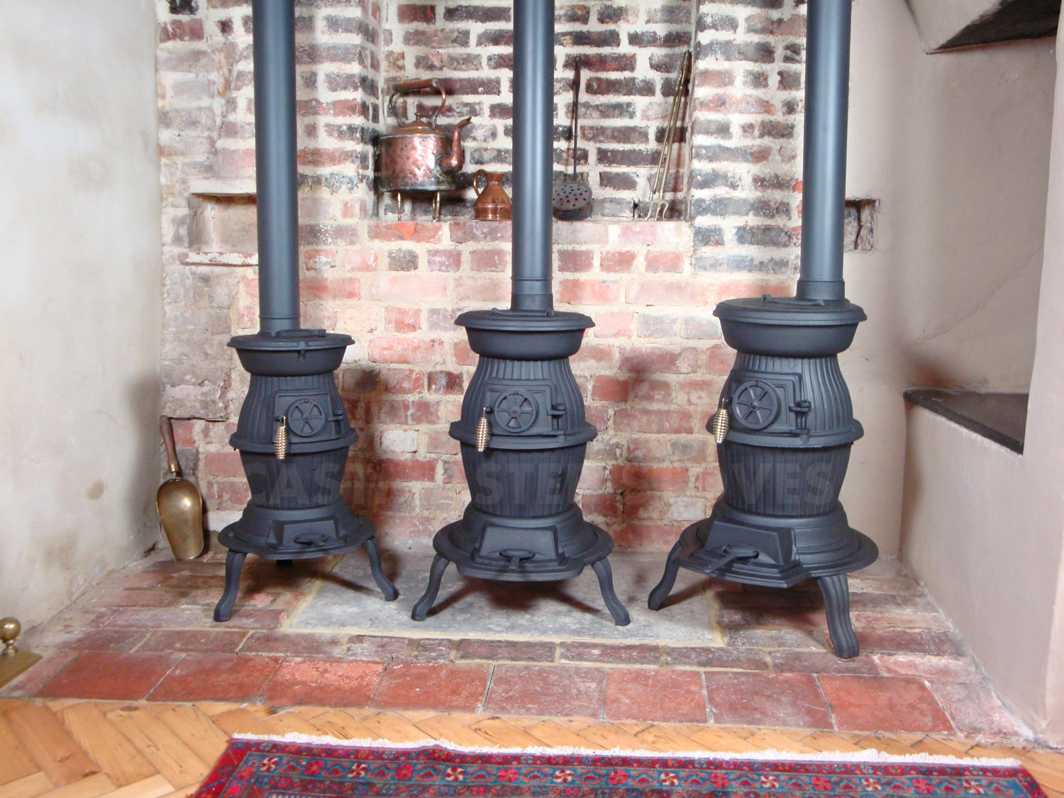 Cast Iron Pot Belly Wood Burning Stove Narrow Boat Workshop Patio Heater Ebay