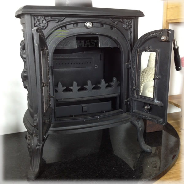Burning wood is better in environmental terms as the amount of carbon  dioxide released into the atmosphere is the same as that absorbed by the  tree during ... - CASTMASTER CAST IRON