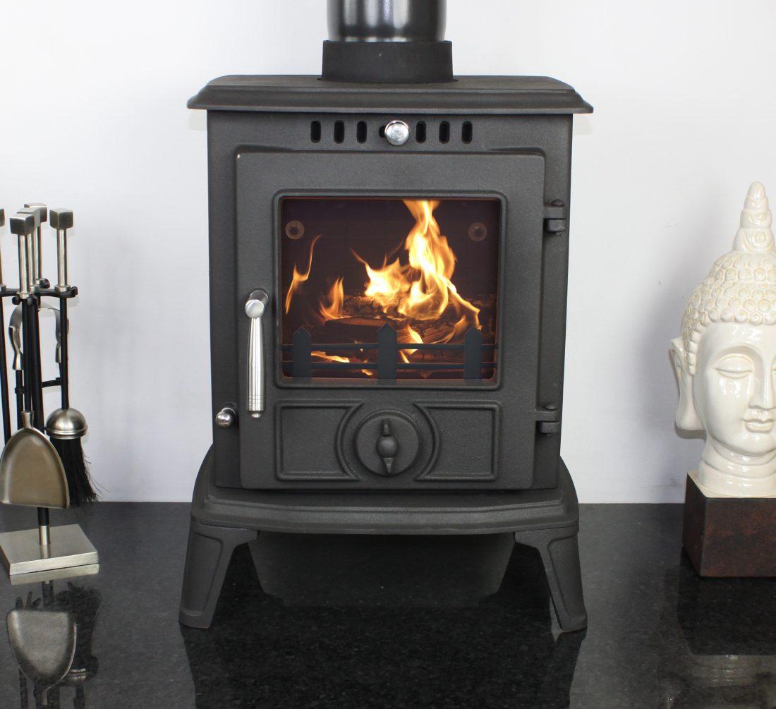 Castmaster Cast Iron Aldbury Wood Burning Multifuel