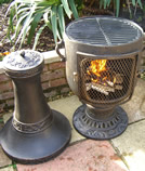 Castmaster Classic Urn chiminea