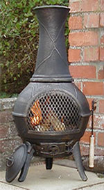 Buy The Vienna Cast Iron Chiminea Online Largest Range Of